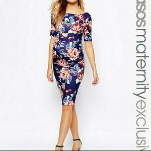 Asos Maternity Dress - Floral Print